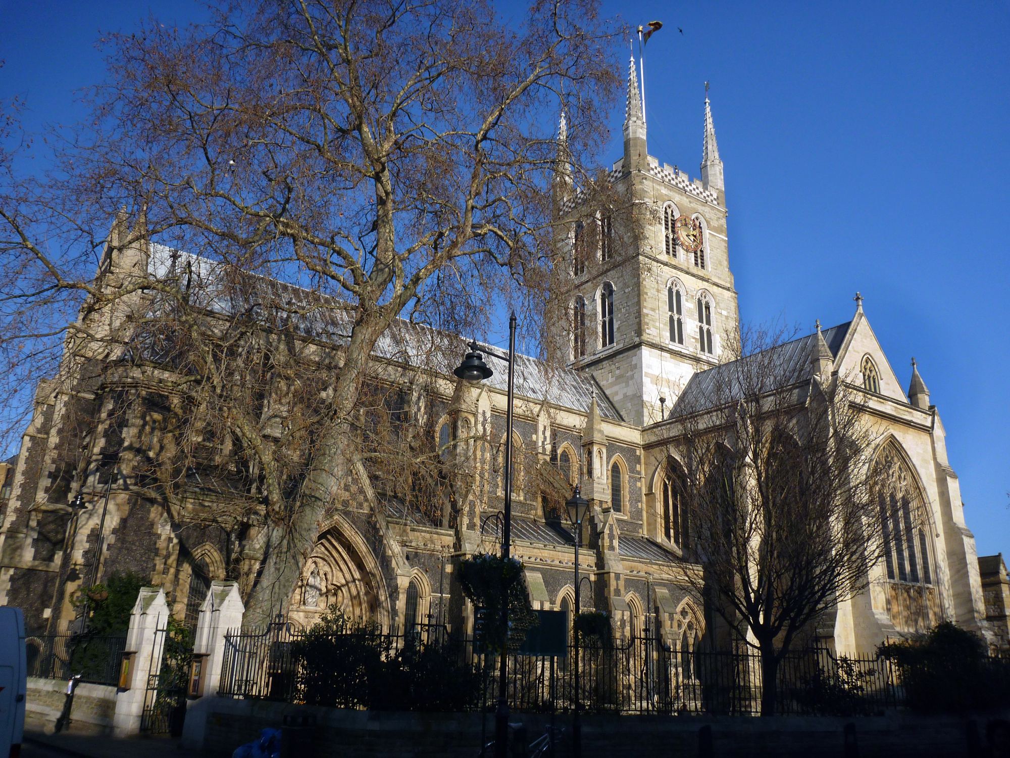 Historic New Contract At Southwark Cathedral